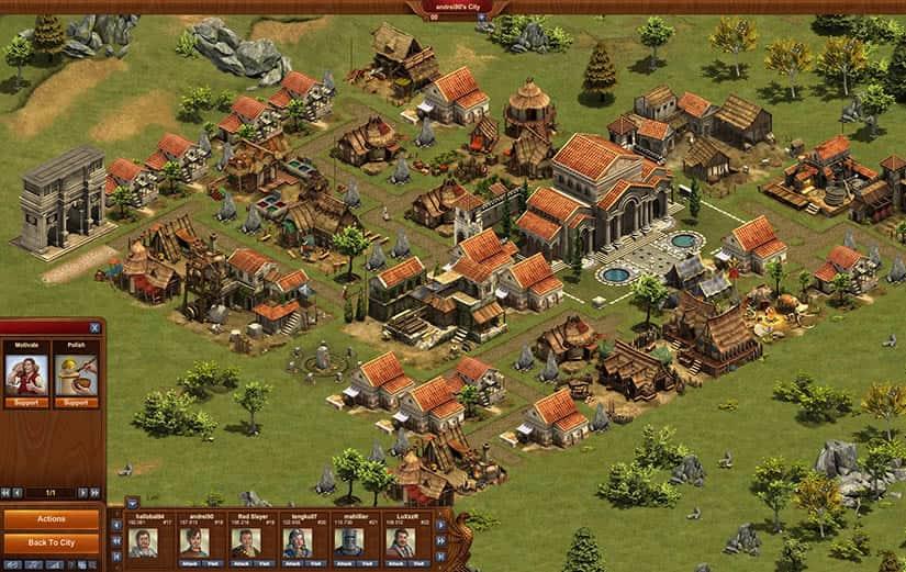 Forge of Empires - El juego online gratis de estrategia